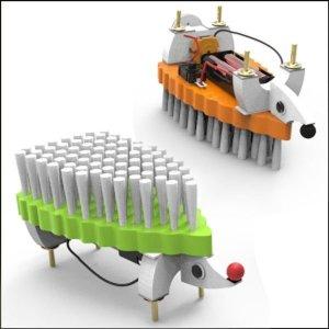 고슴도치 양면 청소진동로봇(1인용)-ATJB