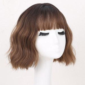 여성 가발 통가발 웨이브가발 패션가발 긴머리 Y21