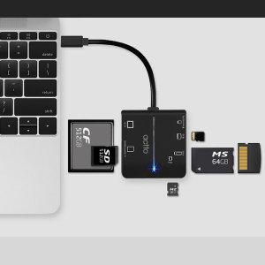 몰티 카드리더기 타입C SD/MS/CF/XD/TF카드 인식