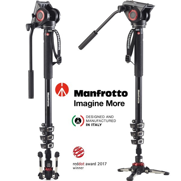 비디오 모노포드 MVMXPRO500  Fluidtech 베이스