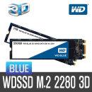 +WD공식대리점+ WD SSD BLUE M.2 3D 2TB