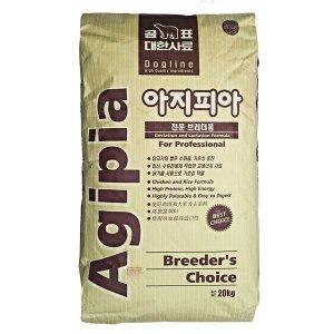 아지피아 20kg 강아지사료 애완견사료 진돗개 개사료