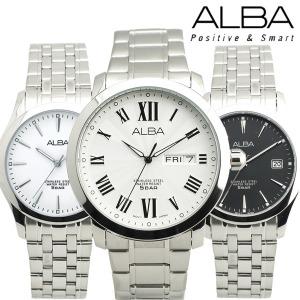 세이코 알바 정품 모던 클래식 커플 손목시계