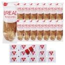 브라운브레드+딸기잼 디스펜팩 15개 세트/부시맨빵