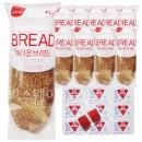 브라운브레드+딸기잼 디스펜팩 10개 세트/부시맨빵
