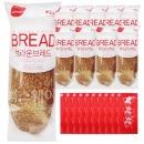 브라운브레드+일회용 딸기잼 10개 세트/부시맨빵
