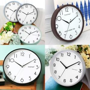 무소음벽시계 인기상품 모음/인테리어시계/집들이선물