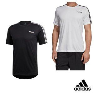 D2M 숏 슬리브 삼선 티셔츠 2종 DT3043 DU1242