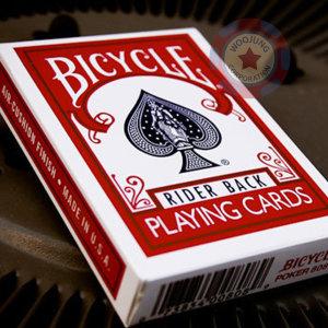 바이시클808카드/마술카드/매직카드/마술용품 레드