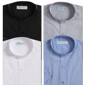 반팔 차이나카라 일반핏 와이셔츠 4종