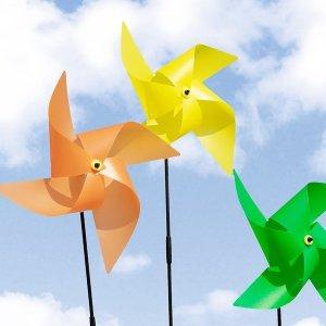 칼라 왕 바람개비 축제 행사 정원 화단 홍보 포토존