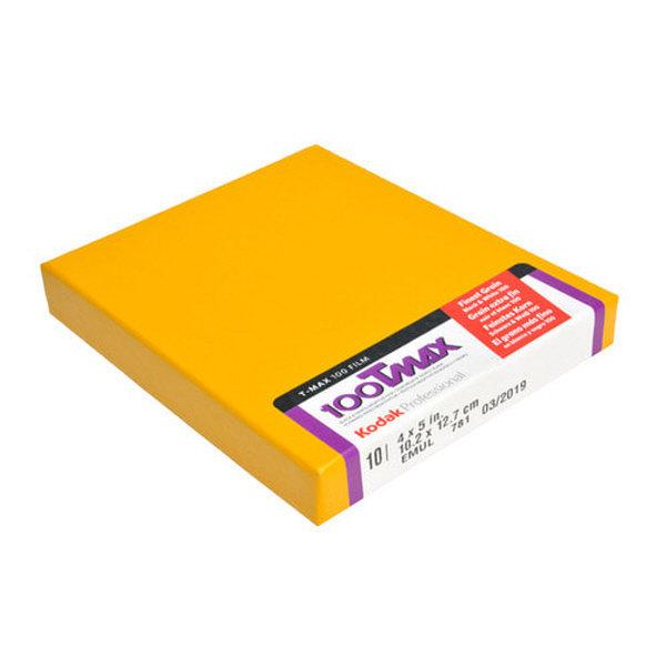 (이월:201903)코닥 흑백필름 TMAX100 4X5(10매) T-MAX