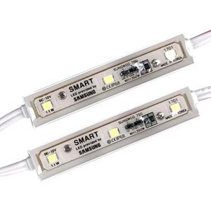 스마트 3구 LED모듈 백색 1.1W(삼성칩사용) 50개묶음