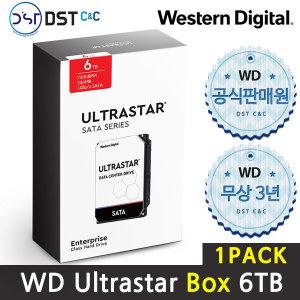 공식판매원 WD 3.5 ULTRASTAR SATA Series 6TB 1PACK