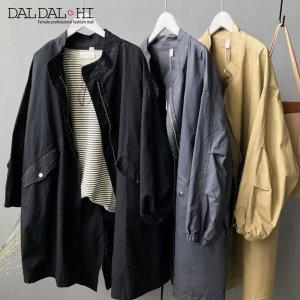 여성 사파리 트렌치 코트 고퀄리티 야상 점퍼3컬러 SO