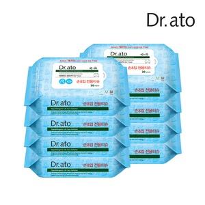 닥터아토 항균 손입티슈 휴대용 20매x8팩/제균티슈
