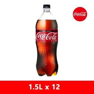 코크제로 1.5PET X12 제로콜라
