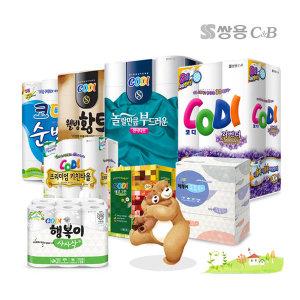 기획상품1+1/코디라벤더/화장지모음/무료배송/각티슈