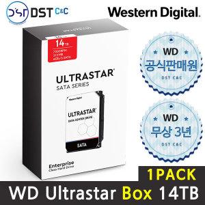 공식판매원 WD 3.5 ULTRASTAR SATA Series 14TB 1PACK
