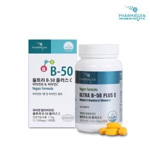 비타민B-50컴플렉스+C/멀티종합비타민 /100정