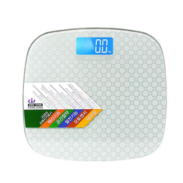 디지털 다이어트 체중계 저울 DWM-107MK