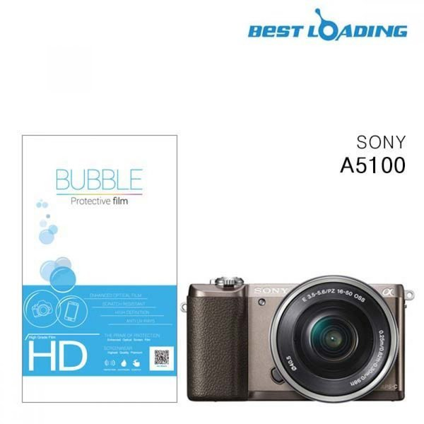 버블 HD 소니 A5100 액정 필름 2장 강화필름 카메라보