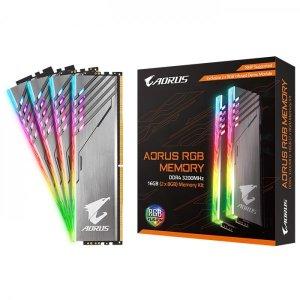 AORUS DDR4 16G PC4-25600 RGB (8Gx2) 정품 With Demo