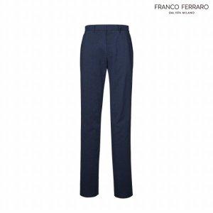 프랑코페라로 남성 여름 폴리 프린트 팬츠(A0Y7206)
