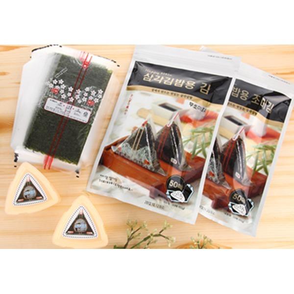 삼각김밥(50장x2봉):특가판매/삼각틀없음