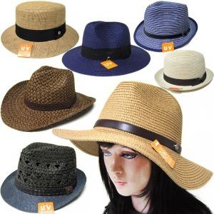 페도라 중절모 밀짚모자 비치 썬캡 여성 여름 챙 모자
