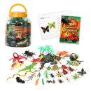 정글파이터/곤충 모형/도마뱀 장난감/악어 피규어