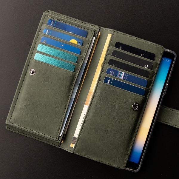 갤럭시 노트9 케이스 핸드폰 지갑 카드 가죽 다이어리