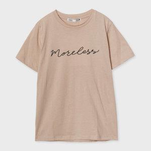 레터링 반팔 티셔츠 MIWHW9501A