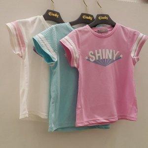 신디키즈 NC05 소매 스트라잎  티셔츠 CIRT18402
