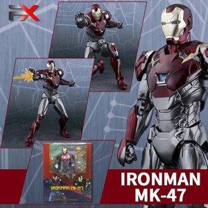 아이언맨 MK47 MK46 MK50 시리즈 액션 피규어