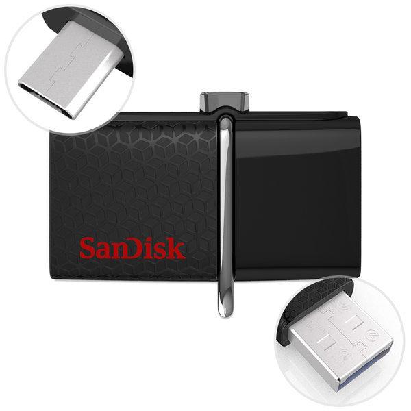 울트라 듀얼 SDDD2 OTG USB3.0 메모리 128GB