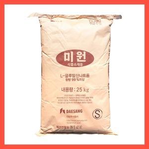 대상 미원 25kg 무료배송 / 2중박스포장 / 업소용미원