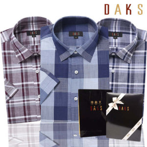 (현대백화점) 닥스셔츠 (DKFS2CSS101B1) 19 S/S 닥스 긴소매/반소매 셔츠남방 28종택1 구성상품