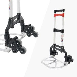 피카 접이식 계단/평지 겸용 핸드카트 SH-FW-3BKR60-3