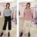 대구백화점 I관   SOUP (기존가:79 000원)자수7부소매리본셔츠(SV4LS99)