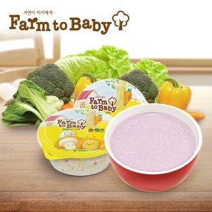 (10+1)(신제품출시)팜투베이비 이유식 유아식 142종