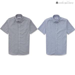 by STCO  19SS 신상  남성 스트라이프 쿨맥스 서커 여름 반팔 셔츠 2종 택1