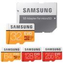 마이크로SD EVO 32GB 정품 및 64GB 128GB 256GB 512GB