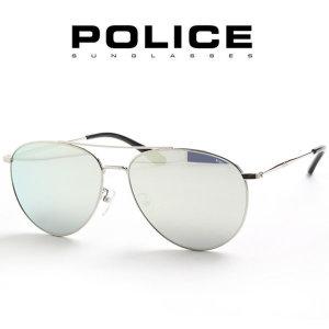 SPL335G 579X 실버미러 선글라스 SPL335 335 POLICE 335