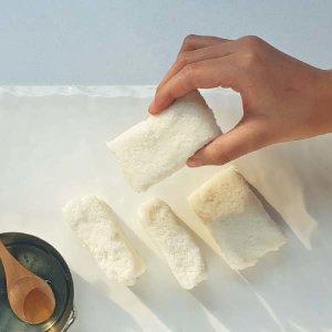 (현대Hmall) 착한떡  꿀백설기 10개+우유백설기 10개+아기바게트찰떡 1개