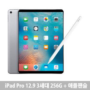 아이패드 프로 12.9 3세대 WiFi  256G + 애플팬슬