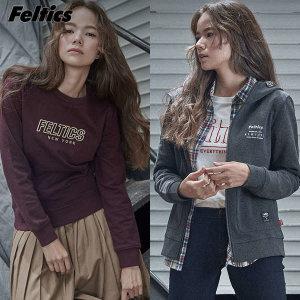 (현대Hmall)펠틱스(Feltics) 클라우드 뉴욕 후드집업점퍼/맨투맨티(2종택일)