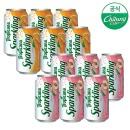트로피카나 스파클링 복숭아 6캔+오렌지 6캔