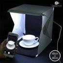 스마토이 미니스튜디오 40X40 포토박스 2개 LED