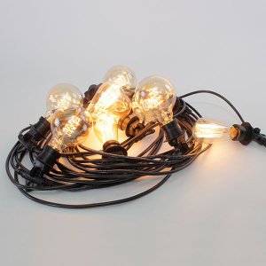 DIY LIGHTING 전등선/연등선 30M 블랙 HS